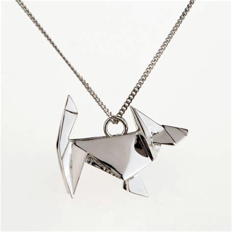 Metal Origami - metal origami jewelry