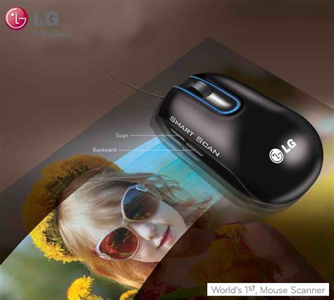 Mouse Scanner Lg Lsm 100 lg introduces revolutionary mouse scanner hybrid lsm 100