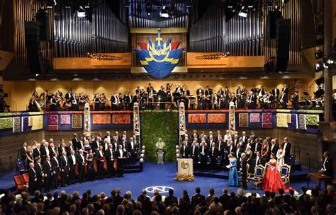 ceremony in the nobel prize award ceremonies and banquets