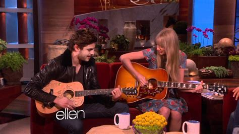 ellen degeneres zac efron taylor swift and zac efron sing a duet the ellen