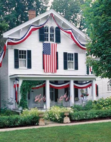 patriotic decorating ideas display your stars and stripes 45 amazing 4th july decoration ideas for your home