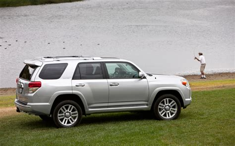 2011 Toyota 4runner Limited 2011 Toyota 4runner Limited Rear Three Quarters Photo 8