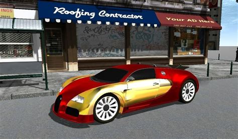 gold and white bugatti 3d model bugatti veyron gold and custom paints fbx and