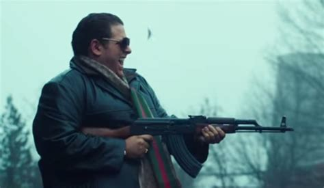 jonah hill war dogs jonah hill s war dogs trailer is and hilarious it now