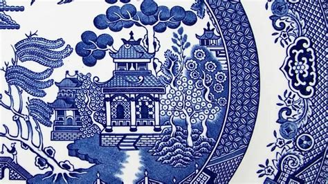 willow pattern story video knit crochet design delft blanket and willow blossom
