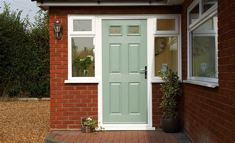 Front Back Doors Internal External Doors Anglian Home Green Upvc Front Doors