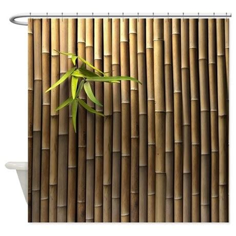 bamboo shower curtains bamboo wall shower curtain by showercurtainshop
