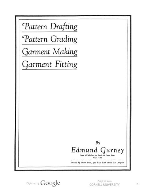 garment pattern grading books 36 best pattern design books images on pinterest sewing