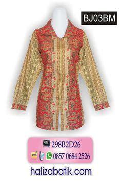 Atasan Blouse Kerja Batik Motif Prodo Merahbatik Pekalongan baju batik pekalongan atasan batik wanita bahan katun