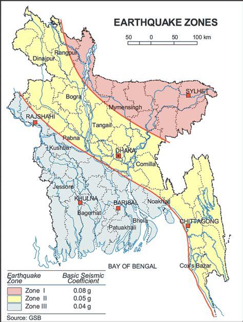 earthquake mp earthquake zones historical earthquake maps of bangladesh
