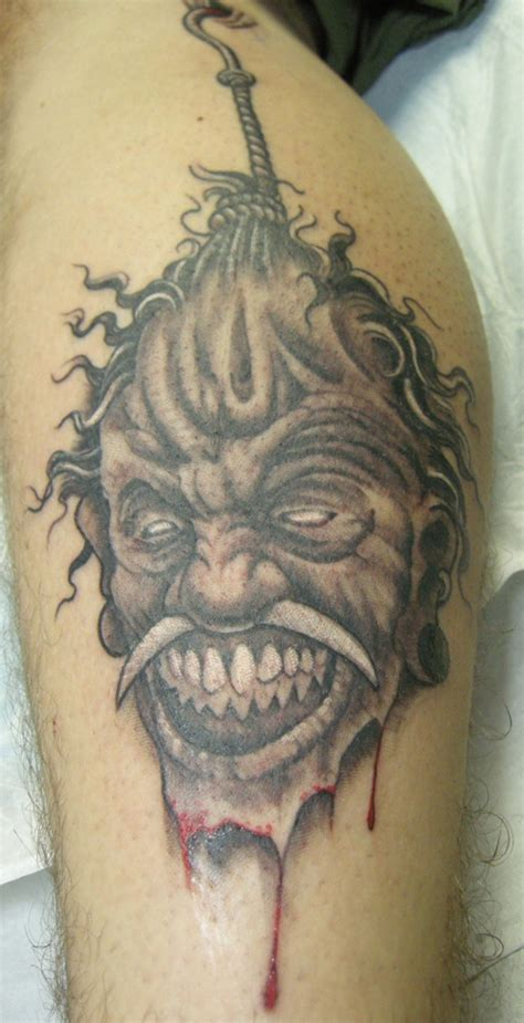 shrunken heads tattoo shrunken rites of passage
