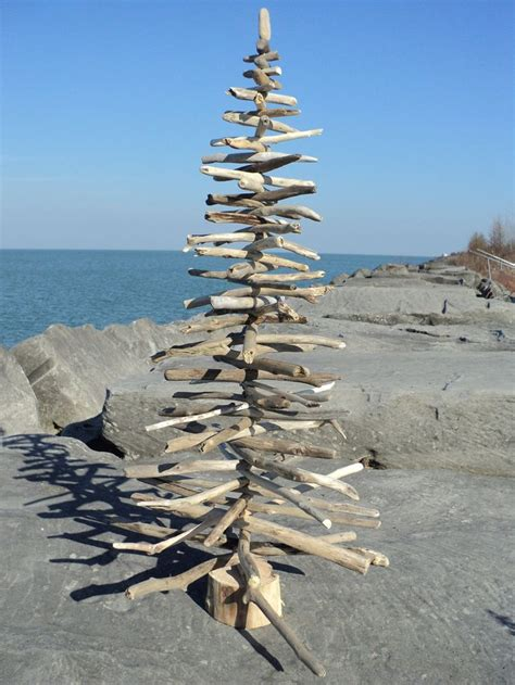 unique handcrafted driftwood christmas trees