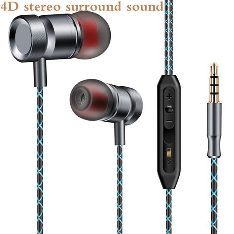 Hendset Xiomi Piston 5 Original original metal earphone bass dj fgj001 headset with