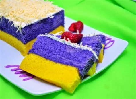 sweet cake resep kue lapis talas bogor