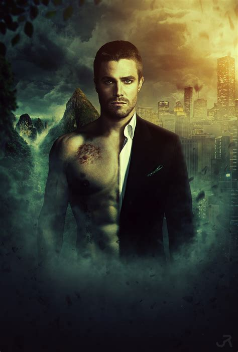 arrow oliver queen by visuasys on deviantart