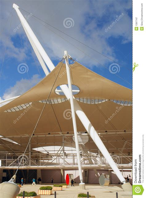 tent building the tent building stock image image of exterior city