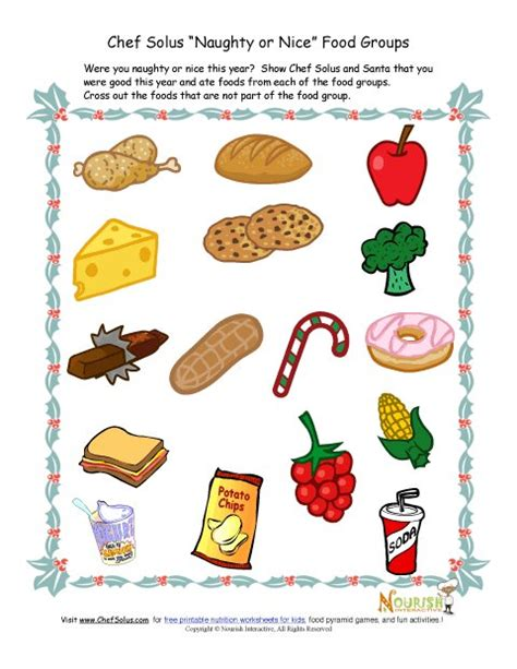 brain snacks for your soul puzzles and activities for adults books kids food groups worksheet