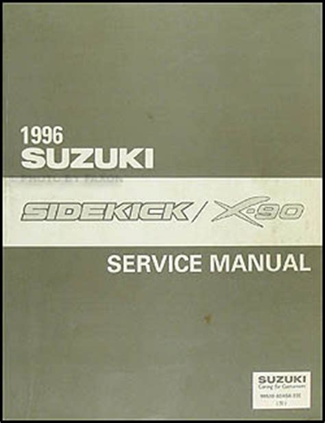 service and repair manuals 1996 suzuki sidekick free book repair manuals suzuki sidekick sport js wiring diagram suzuki sidekick engine wiring diagram elsalvadorla