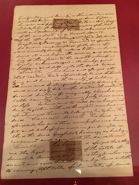 Cobb County Property Records Deeds How Tritt Property Land Deeds From 1840 Survived The Civil War The Friends For