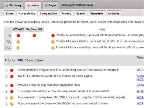 Section 508 Checker by Accessibility Checker Test Wcag 2 0 Section 508 Compliance