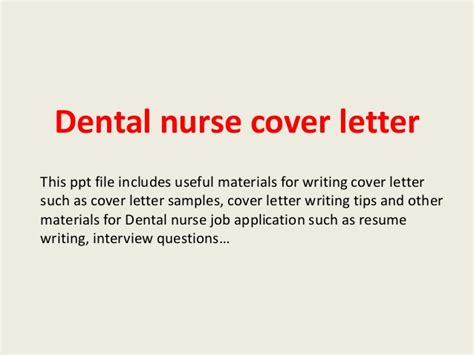cover letter trainee dental dental cover letter
