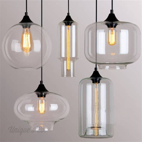 Glass Pendant Light Deco Glass Pendant Lights Gls505 Unique S Co