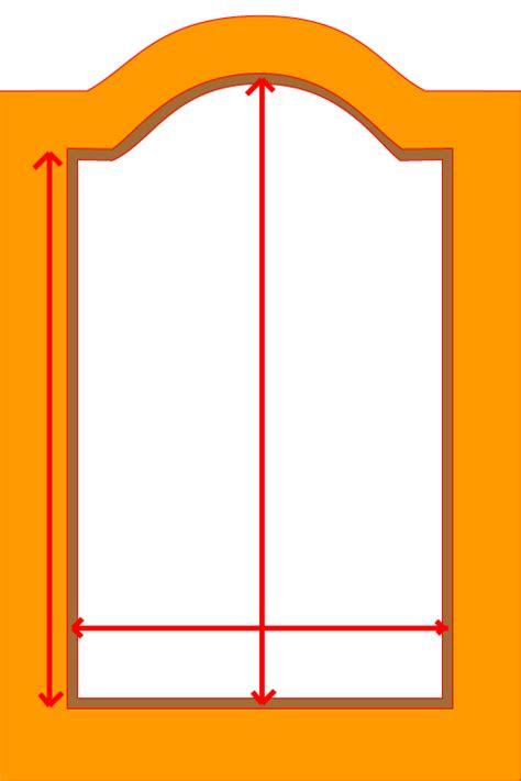 cabinet door templates cathedral cabinet door template cabinet doors