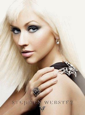 Fab Ad Aguilera For Stephen Webster by Aguilera Stephen Webster 2009 Jewelry Ads