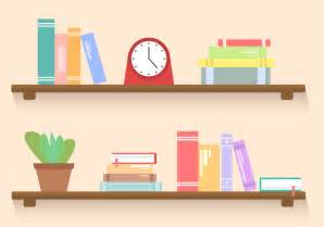 Bookcase 2 Shelf Free Bookshelf Vector Download Free Vector Art Stock