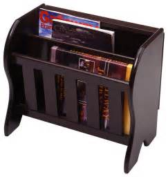 Espresso Mirrors Bathroom Winsome Wood Magazine Rack W Side Flip Top In Dark