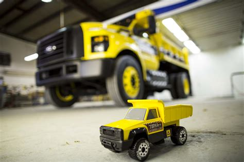 Ford Built a Real Life Tonka Dump Truck Based on the 2016