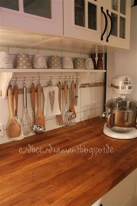 Kitchen Countertop Shelf Shelving Wooden Countertop By Erdbeerdiamant A Interior Design