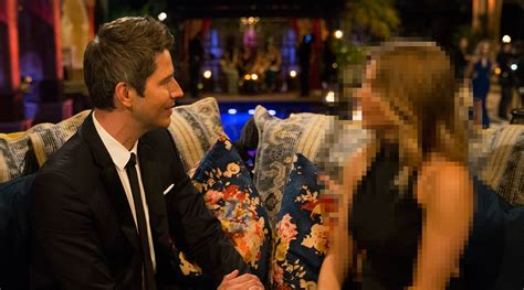 the bachelor s arie gives first impression rose to