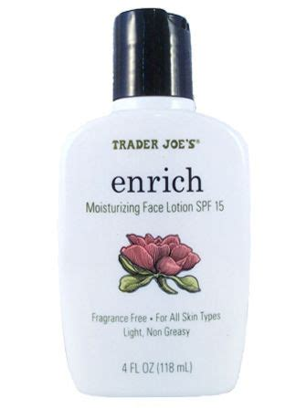 Moisturizing Enrich By Trader Joes trader joes enriching moisturizer reviews 2013