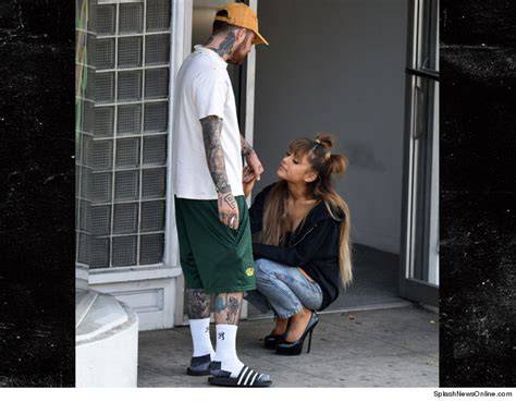 ariana grande is so into mac miller s new tattoo tmz com