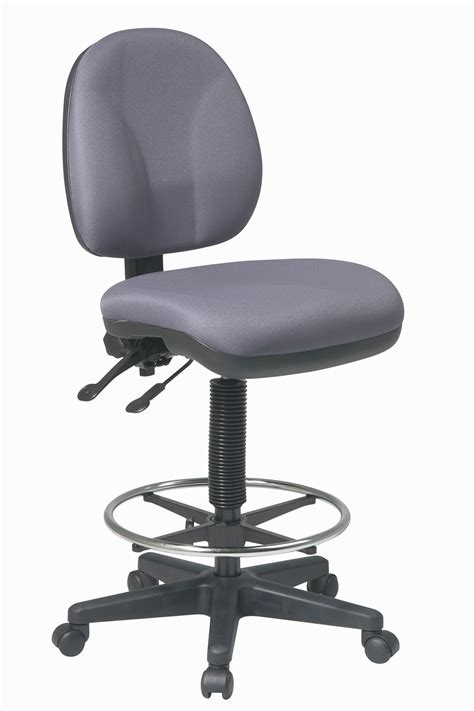 comfortable drafting chair dc940 office star intermediate height deluxe ergonomic