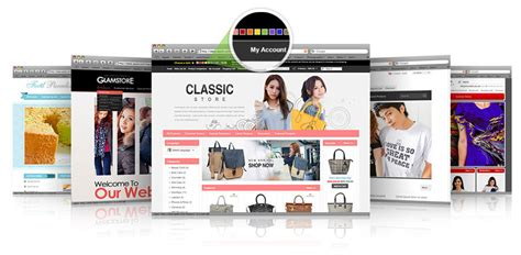 best ecommerce templates shopping cart templates by