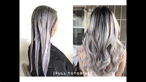 tutorial ombre rambut tanpa bleaching full tutorial how to babylights balayage on black dark