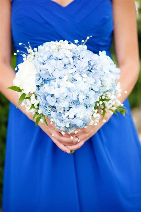17 best ideas about blue baby on took hydrangea and babys breath bouquet www imgkid the