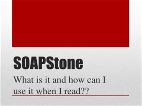 Soapstone College Board Ppt Soapstone Powerpoint Presentation Id 417474