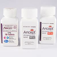 Aricept 5mg Eisai aricept donepezil dosage indication interactions side