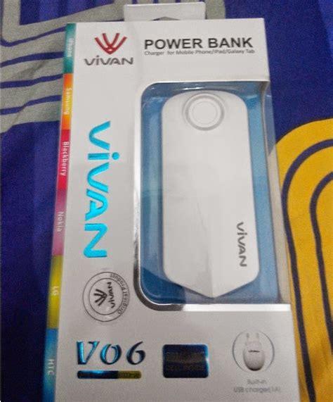 Power Bank Vivan V06 6000mah adeeology vivan v06 6000mah power bank review