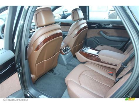 Audi A8 Nougat Brown Interior by Nougat Brown Interior 2013 Audi A8 L 4 0t Quattro Photo