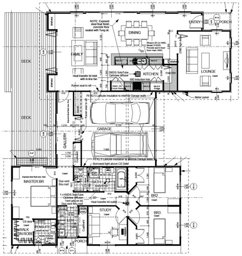 Ecotect Buy Download Tawa Full Set Drawings Complete Set Of House Plans