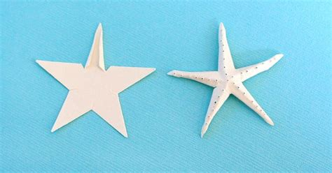 How To Make Starfish With Paper - pin by lessard on