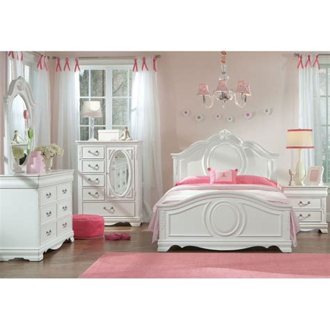 twin bedroom furniture sets jessica white 6 piece twin bedroom set rcwilley image1 800 jpg