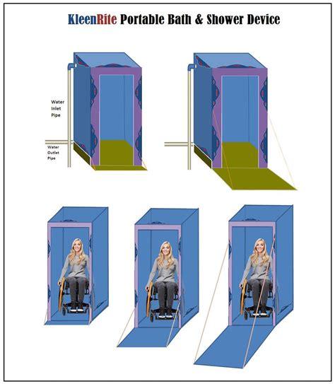 portable bathtub for shower kleenrite portable bath shower device create the future design contest