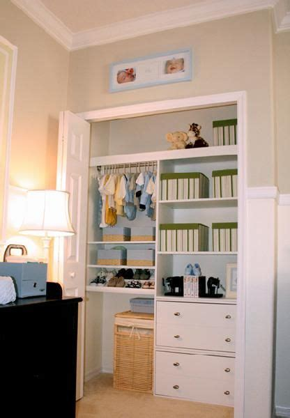 Nursery Wardrobe With Shelves by Nursery Closet Organization Easy Diy Baby Closet