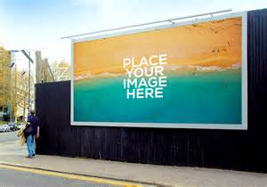 Outdoor billboard mockups mockupworld
