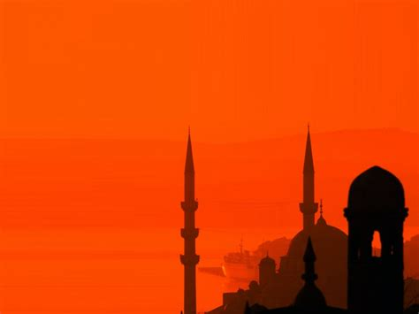 islam powerpoint template islamic mosque backgrounds that is suitable for religious